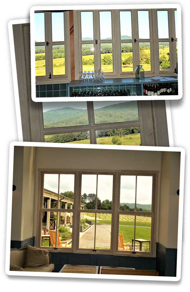 Window film installation example