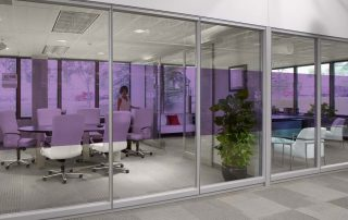 Decorative Glass and Window Film Ideas for Offices