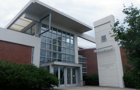 UVA's JAG School Building