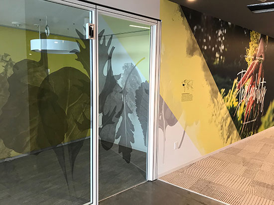 Printed window film