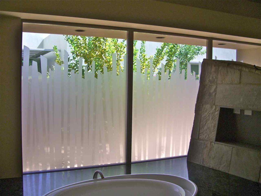 froosted window film installation bathroom