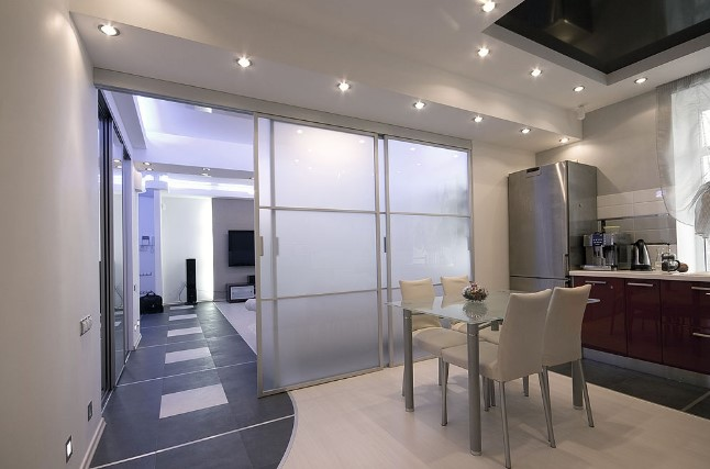 frosted glass film for kitchen interior doors