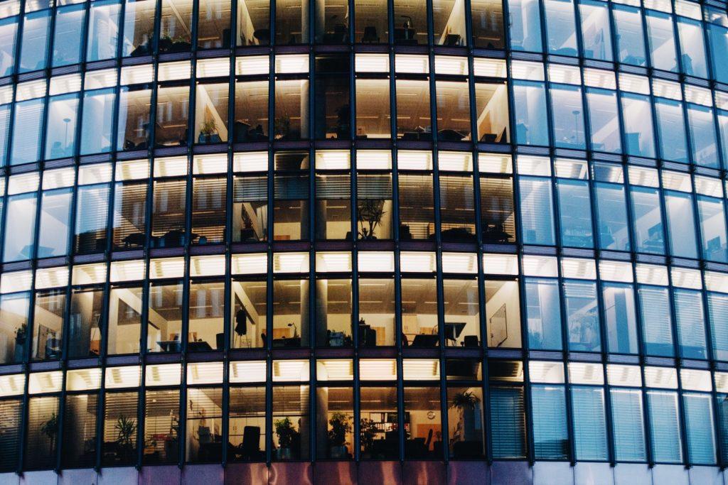 commercial building window film, tinting, Charlottesville VA, Richmond VA